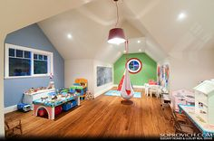 My future kids would love a playroom like this.