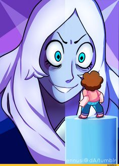 blue diamond and blue pearl with greg fun animation pinterest blue pearl and steven universe. Black Bedroom Furniture Sets. Home Design Ideas