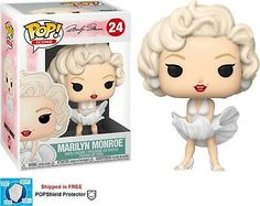 Icons: Marilyn Monroe White Dress - Ideas of Funko Pop Marilyn Monroe, Jean Michel Basquiat, Pop Vinyl Figures, Funko Pop Figures, Harry Potter, Stranger Things, Dc Comics, Hello Kitty, Pop Game Of Thrones