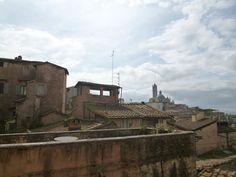 """Panorama, Camera di """"Grand Hotel Continental"""", Siena Italia (Marzo)"""