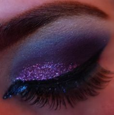 purples and sparkles