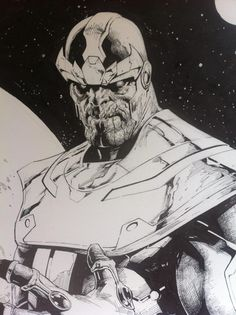 Thanos (detail) by Jerome Opena