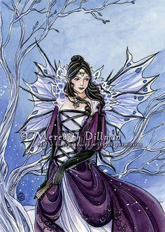 Meredith Dillman Fairies | SciFi and Fantasy Art Adriana by Meredith kyrn Dillman