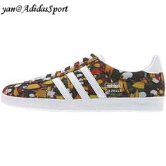Women basketball Adidas Originals Gazelle OG WC farm photo/print type white/metallic silver HOT SALE! HOT PRICE!