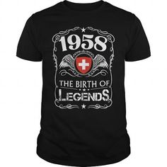 1958  THE BIRTH OF LEGENDS