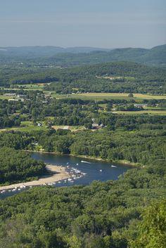 Connecticut River, Greater Springfield #travel #massachusetts Credit: Paul Schnaittacher