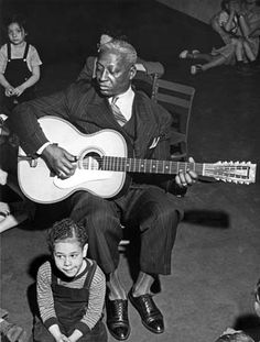 Leadbelly - Bob Dylan noted that Leadbelly was one of the few ex-cons to record a popular children's album, Lead Belly Sings for the Children.