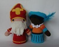 31 Beste Afbeeldingen Van Sinterklaas Crochet Patterns Crocheting