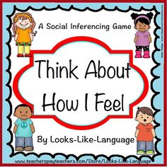 Games and worksheets to practice vocabulary for emotions, identify facial expressions, tell how people feel in situations and take other's perspectives. $