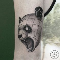 Tattoo Maze - A wonderful place for all things Tattoo's Geometric Sleeve Tattoo, Sleeve Tattoos, Palermo, Tattoo Motive, Animal Tattoos, Geometric Animal, Fashion Trends, Animals, Geometric Tattoo Animal