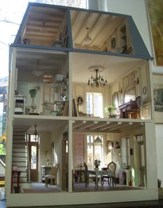 pipi turner miniatures vintage modern dollhouse furniture 1200 etsy