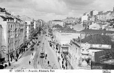 JoanMira - 1 - World : Fotos - Lisboa antiga - Avenida Almirante Reis - 1...