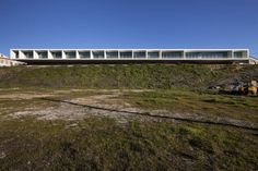 'Hotel and catering school' by Eduardo Souto de Moura + Graca Correia, Portalegre, Portugal Commercial Architecture, Facade Architecture, Contemporary Architecture, Less Is More, Beautiful Buildings, Tourism, Exterior, Landscape, Pictures