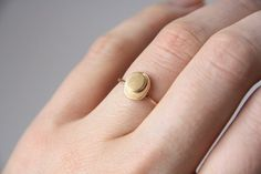 Cairn Ring 14k Gold | Handmade jewelry by TorchFire Studio