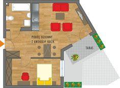 Rzut mieszkania Floor Plans, Diagram, Floor Plan Drawing, House Floor Plans