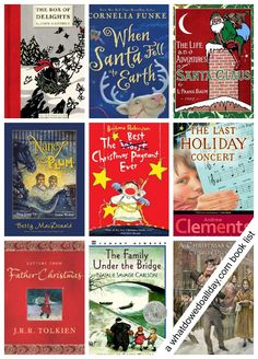 Christmas chapter books perfect for family read aloud time!
