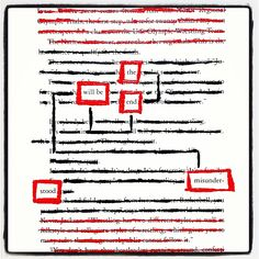 Awkward Apocalypse: Make Black Out Poetry, Black Out Poetry, Poetry