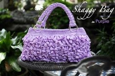 Shaggy Bag...crochet by keaw