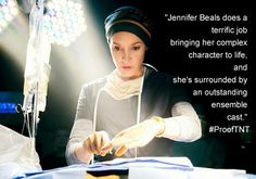 """Jennifer Beals as Dr.Cat Tyler in TNT drama series """"Proof"""" Tuesdays at 10/9c"""