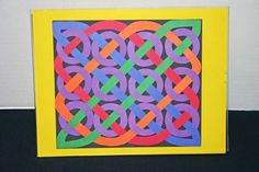 27 Pretty Photo of Scrapbook Art Projects 27 Pretty Photo of Scrapbook Art Projects . Scrapbook Art Projects Arts And Crafts With Construction Paper Home Art Design Celtic Crafts, Celtic Art, Easy Paper Crafts, Arts And Crafts, Fabric Crafts, Construction Paper Art, Classe D'art, 4th Grade Art, Paper Weaving