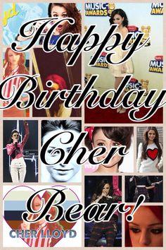 Happy Birthday Cher Bear!!