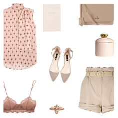 """Ready to fly"" by alongcametwiggy ❤ liked on Polyvore featuring Valentino, Moschino, Zara, Eberjey, Vivienne Westwood, Kate Spade, H&M and 1986"