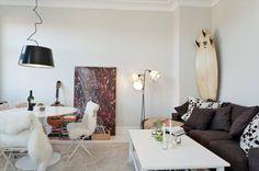 Bonita renovación de un piso de 45 m² con vistas