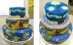 Idea for monet cakes