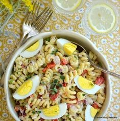 Humble Pasta Salad with Tuna - The View From Great Island