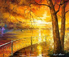 Sonnenuntergang Wandkunst  die Süße der Sonne  von AfremovArtStudio