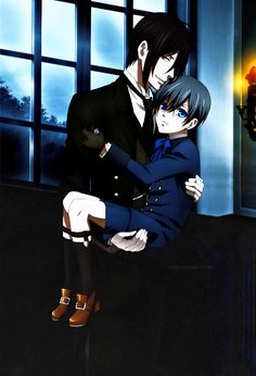 Sebastian....*Swoons* This show would have been so much better if Ciel had been a teenage girl and Sebastian and her were in love. Her name could have been Cieless, pronounced CE-LESS.