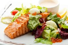 Salmon is very important for woman that try to conceive.  Great protein source, rich in many nutrients and omega 3.  Research has shown that optimal levels of omega 3 are important for fertility.