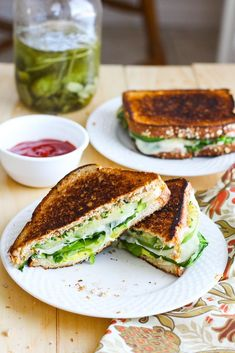 Green Goddess Grilled Cheese Sandwiches | Avocado Recipes That Will Dominate Your Kitchen