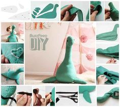 Loch Ness Monster | 10 Adorable Stuffed Animals You Can DIY