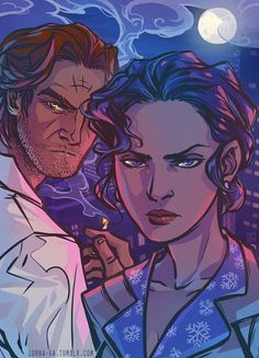 Snow White. Bigby Wolf. The Wolf Among Us.