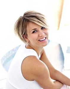 Kaley Cuoco Women's Short Hairstyles