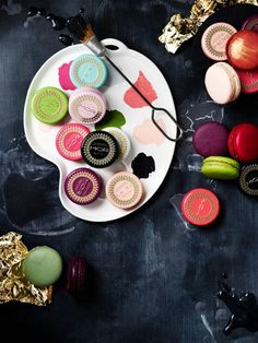 - MOR I love these lip macaroons! The green apple one is my favorite!