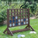 DIY Four In A Row Backyard Game – full step by step instructions…how cool!!!