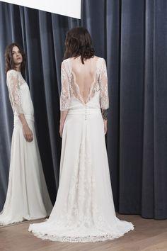 ROBE VIVI - Stéphanie Wolff Paris #collection2017 #wedding #robedemariéesurmesure #créatriceparis Crédit photo : Alice Bee