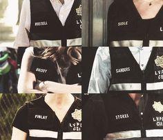 CSIs in their vests