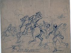 Civil War Drawings art exhibit - art from the battlefields