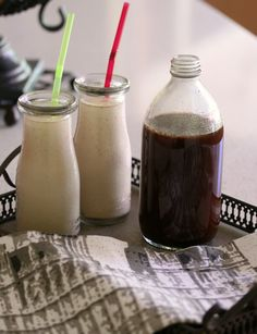 Crio Bru Concentrate Chocolate Syrup - Cooking with Tenina Thermomix Recipes Healthy, Primal Recipes, Healthy Eating Recipes, Clean Recipes, Healthy Cooking, Drink Recipes, Healthy Chocolate Milk, Chocolate Shake, Chocolate Syrup