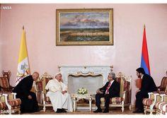 """Papa a las Autoridades armenias: """"es vital aislar a quien usa la religión para llevar a cabo la guerra"""" - Radio Vaticano"""