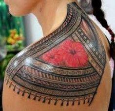 Traditional Polynesian Tattoo from Otautahi Tattoo in Auckland, New Zealand
