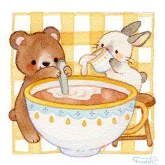 Art And Illustration, Illustrations, Pretty Art, Cute Art, Animal Drawings, Cute Drawings, Kawaii Drawings, Arte Indie, Dibujos Cute