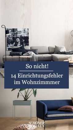 Einrichtungsfehler im Wohnzimmer When furnishing the living room, the motto is: what is allowed? Furniture, Living Room, Furniture Makeover, Home, Furnishings, Household Furniture, Diy Furniture, Home Furniture, Room