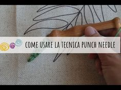 Come usare il punch needle - tutorial con kit Anchor - YouTube Punch Needle, Anchor, Kit, Tattoos, Youtube, Tejidos, Hipster Stuff, Tatuajes, Tattoo