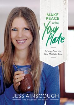Make Peace With Your Plate is part memoir and part exploration into the possibility of ditching diets and mending our torturous relationships with food...This book also covers the lifestyle, diet and mindset changes that keep me thriving, six years after my incurable cancer diagnosis at 22 years old. - Jess Ainscough