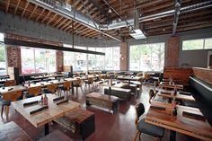 What's on the Menu at New Ping Pong Eatery Ace - Eater Denver Denver Restaurants, Small Bench, Big Party, Cafe Design, Small World, Menu, Restaurant Interiors, House, Diners