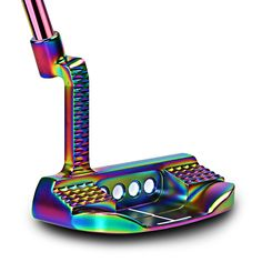 Golf Clubs Putter Right Handed men Steel Material Colorful lower centre of gracity stable distribution headcover freeshipping New Golf Clubs, Golf Club Sets, Golf 2, Golf Ball, Club Face, Golf Putters, Make An Effort, Steel Material, Golf Tips